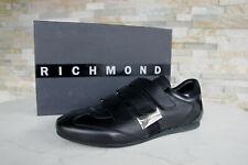 RICHMOND Talla 46 Zapatillas Zapatos de Cordones Zapatos Negro Nuevo Antiguo