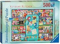 Ravensburger Kitschy Kitchen 500 Piece Jigsaw Puzzle