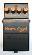 BOSS HM-2 Heavy Metal Guitar Effects Pedal MIJ 1986 #479 DHL Express or EMS