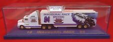 Vintage Jeff Gordon Signed 1994 Inaugural Race Brickyard 400 Die Cast Hauler