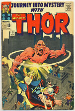Journey Into Mystery #121 Vg, Thor, Stan Lee, Jack Kirby, Marvel Comics 1965