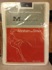 Wow! Vintage Marquis A&S medium pantyhose panty hose