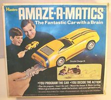 Hasbro Amaze-A-Matics Chrysler Charger III Battery Op Toy (Boxed)