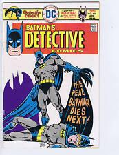 Detective Comics # 458 DC Pub 1976