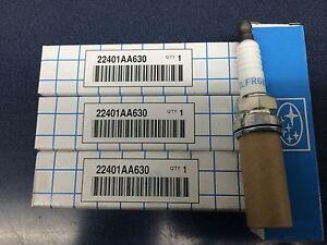 SUBARU OEM 04-07 Impreza 2.5 Spark Plugs 22401AA630 Forester XT Sti Wrx 4 pack
