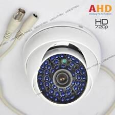 2000TVL HD 1.0MP 720P 48LED IR AHD DOME  CCTV Camera Waterproof Security WHITE