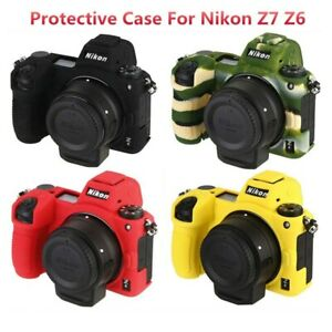 Silicone Rubber Camera Protective Case Camera Bag For Nikon Z7 Z6 Camera CASE