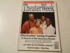 Denzel Washington, Chip Zien, Ruby Dee - Theater Week Magazine 1988