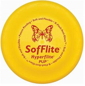 "Hyperflite Sofflite Soft Dog Frisbee Disc 7"" for Puppies Small Breeds Senior Dog"