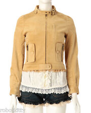 Genuine Liz Lisa Velveteen fur riders Jacket new with tags