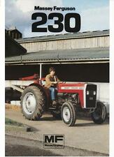 MASSEY FERGUSON MF230 TRACTOR PARTS MANUAL 130pgs w/ MF 230 Parts List Catalog