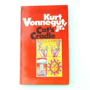 KURT VONNEGUT Cat's Cradle (1970, Dell, Paperback, 33rd Printing 1974)
