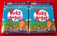 Jacqueline Wilson Vicky Angel 3-Tape UNABRIDGED Audio Book Eve Best
