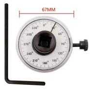 "360° 1/2"" Drive Torque Angle Gauge Meter Angle Rotation Wrench Measurer I4F2"