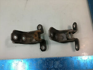 10-16 Hyundai Genesis Coupe Front Right Door Upper & Lower Hinges Pair E