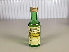 Mignonnette mini bottle non ouverte whisky sheep dip