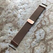 Rose Gold Color Milanese Band Strap for Garmin Venu 2 Smartwatches -B22