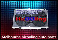 Alloy Radiator & Fans NISSAN PATROL GU Y61 2.8L 3.0L RD28 ZD30 CR 99-13 MT
