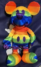 New listing Mickey Mouse Rainbow Plush Disney Store Exclusive 2019 Nwt