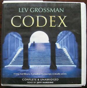 Codex by Lev Grossman. Audio book. CD. Complete and Unabridged