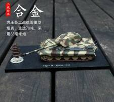 1:72 AMER Tiger II - Kursk 1943 WWII Tank Diecast Military Army Armor Model