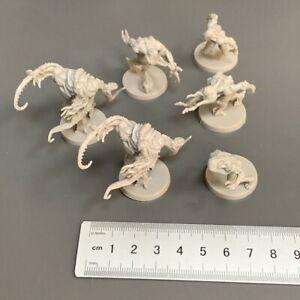 6X Zombicide Invader Alternate Hunter Sculpt Tanks Monster Miniatures Board Game