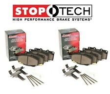 For Chrysler Crossfire Front & Rear Metallic Brake Pads Set Kit StopTech