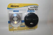 Memorex mini-DVD starter kit (new/sealed): includes 1 mini DVD-R, case, cloths