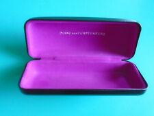 Diane Von Furstenberg DVF Eyeglasses Sunglasses Black Hardshell Case