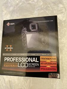GGS BF Model Optical Glass DSLR LCD Screen Protector for Canon 550D camera New