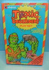 Vintage Colorforms Toxic Crusaders Play Set 1991 Sealed