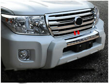 1Pc Fit For Toyota Land Cruiser LC200 2012-2015 Car Front Bumper Protector White