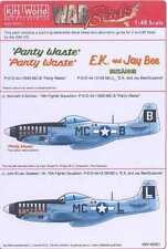 Kits World Decals 1/48 P-51D MUSTANG Panty Waste & E.K. and Jay Bee
