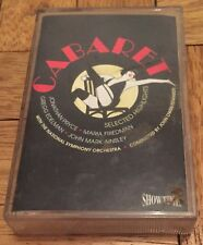 Cabaret Cassette Music Tape with Jonathan Pryce National Symphony Orchestra 1994