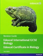 Edexcel International GCSE (IGCSE) Biology Revision Guide with Student CD,Ann F