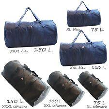 JUMBO  sehr große Sporttasche / Reisetasche Tasche  75 110 150 L schwarz blau