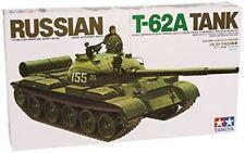 Russian T - 62A Tank - 1/35 Military Model Kit - Tamiya 35108