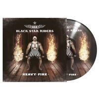 BLACK STAR RIDERS - HEAVY FIRE PICTURE VINYL LP NEW