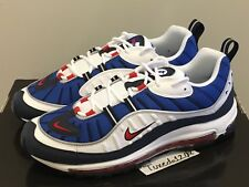 DS Nike Air Max 98 Gundam sz10.5 White/Red/Obsidian 1 90 95 97 atmos 640744 100
