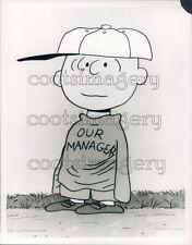 1969 Peanuts Charlie Brown as Baseball Manager Press Photo