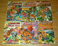 Giant-Size Fantastic Four #1-6 VG/FN complete series - 4 madrox multiple man set