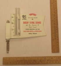 SHELBY FLYING SERVICE - Shelby, Montana - 20 yrs Experience - Rain Gauge