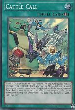 YU-GI-OH CARD: CATTLE CALL - SUPER RARE - SHVI-EN081