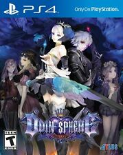 Odin Sphere Leifthrasir (Sony PlayStation 4, PS4) With Artbook