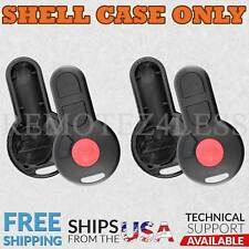 2 for 1998 VW Beetle Remote Shell Case Car Key Fob Cover