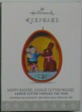 Hallmark 2017 Happy Easter Cookie Cutter Mouse Ornament 3rd Throughout The Years
