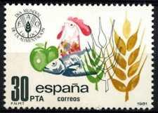 SPAGNA 1981 SG#2656 Giornata Mondiale dell'Alimentazione Gomma integra, non linguellato #D68145
