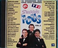 CD SUCCÈS FOUS VOLUME 3 Ref 0964