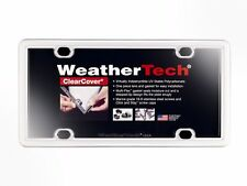 WeatherTech ClearCover License Plate Cover - Durable Frame - 1 Pack - 17 Colors!