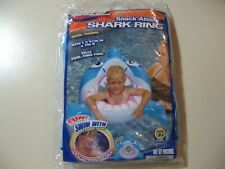 Banzai: 42 inch Inflatable Shark Swim Ring, Brand New & Sealed